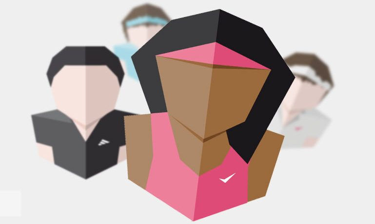 Tennis Player Avatars